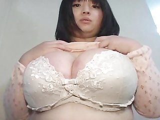 Asian giant tits 34gg