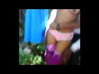 Tamil uniformed school girl gangbang in public