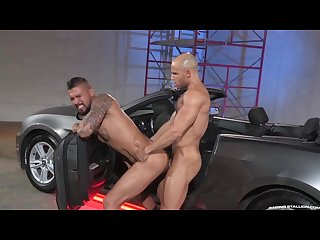 Raging Stallion boomer banks first ever bottom scene