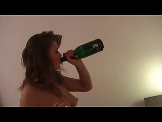 Excessive drinking smoking and ass fucking her man