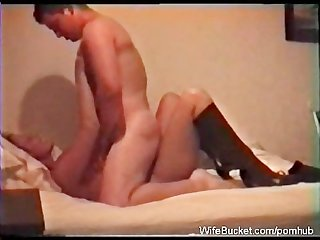 Married couple 1st sex tape