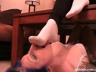 Megan sockslave