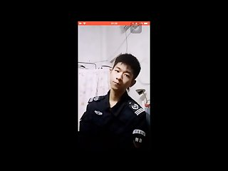 Chinese policeman webcam