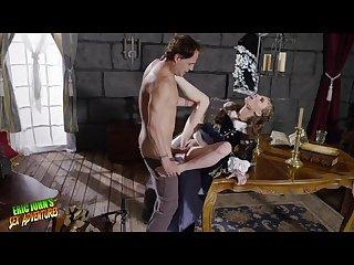 Medieval times apprentice ANYA OLSEN has scholar ERIC JOHN teach her sex