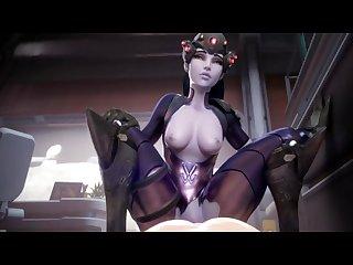 Overwatch cg hentai