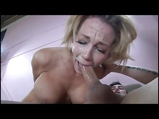 Blowjob deepthroat fap challenge