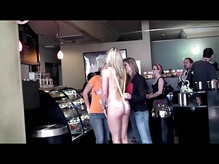 Lb 242 strip candy passing public humiliation nudity