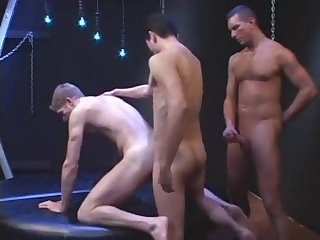 Foursome piss play fucking and double penetration