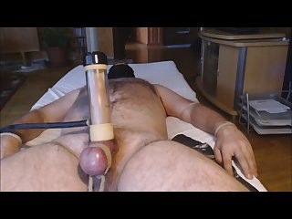 Venus 2000 milker 3 me tease and milk hung alpha Bear balls tied