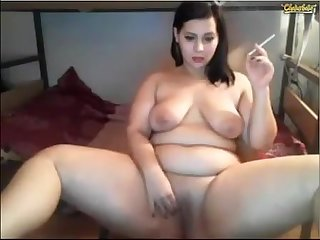 Hot bbw camsmoker