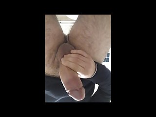 Public masturbation in a public toilette