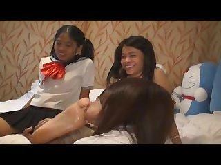 Asian thai foot lesbian