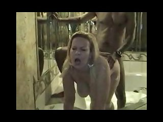 Wife pass the night with her black lover cuckold