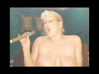 Big cigar smoke