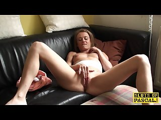 Squirting sub slut punished for faking orgasm