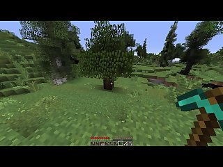 How to chop wood in minecraft