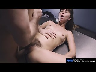 Pornfidelity riley reid S squirting pussy gets her out of trouble