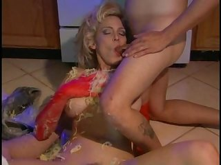 Bettie cockers perverted kitchen scene 2