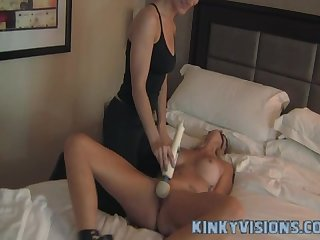 Selfbound gone wrong in hotel room