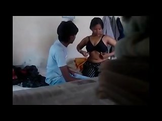 Desi collage girl hard fucking with her lover Venu