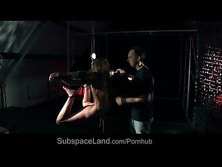 Young Alexis restrained and hard tortured in bondage porn