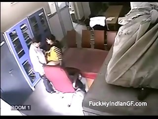Indian school teacher fucked by her colleague filmed by hidden cam mms