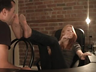 Christy discovers foot fetish www c4s com 8983