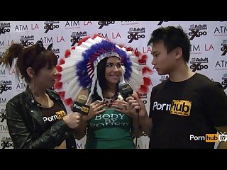 Pornhubtv Danica dillon interview at 2014 avn awards