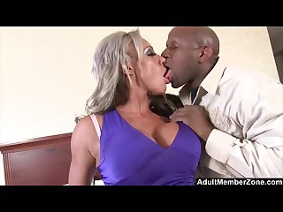 Adultmemberzone big titted milf craves huge black cock