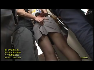 Milf touched in the Train