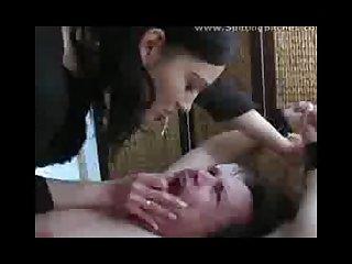 Spitting femdom 2