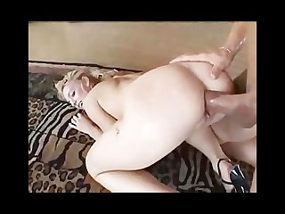 Sexy blonde babe is a slave to sex