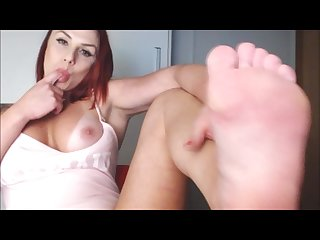 Brazilian model feet fetish and toes