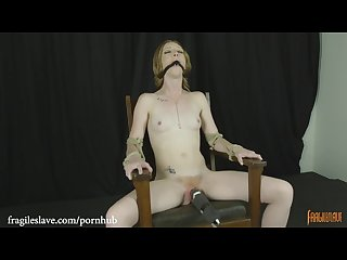 Katy kiss gagged chair tied and cumming
