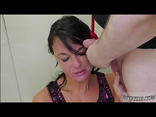 Bondage scene 2 and rough bride fuck and mmf bdsm and rough double anal