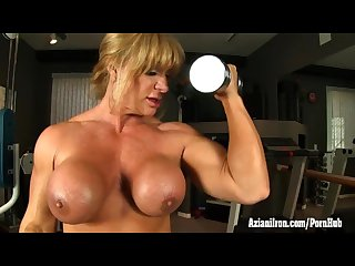 Aziani iron kat connors nude workout
