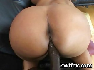 Horny gigantic wife amateur pounded