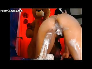 Dildo machine cums in pussy pussycam365 com