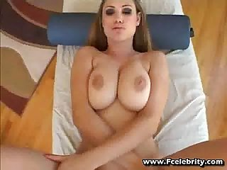 Busty brunette pays with her body