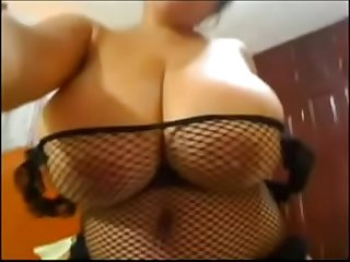 Latina With Huge Tits - Watch Part 2 at WildFuckCam.com