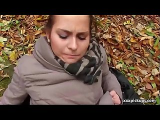 Public pickups amateur girl suck dick for money in the street 14