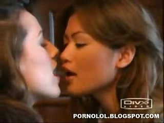 Girls kissing 1