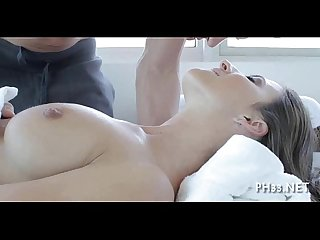 Agreeable and hot massage