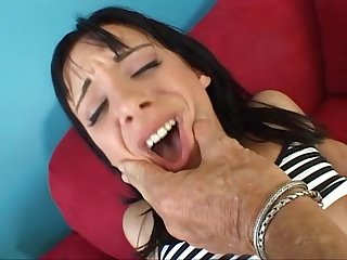 Sierra sinn gets fucked in the ass