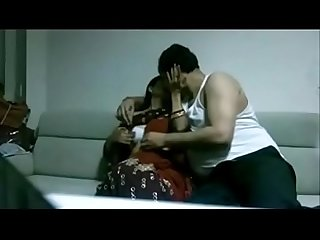 Indian desi wife in saree fucking Husband in house