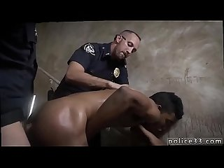 Nude police fucking gay Suspect on the Run, Gets Deep Dick