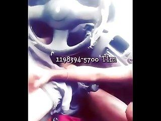 Chupando um f� do meu perfil do Xvideos no carro,fiquei de Rola dura