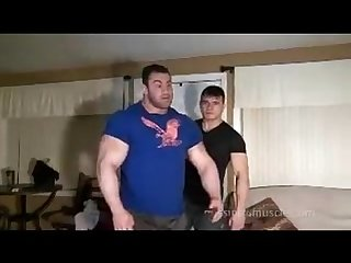 Big max and jet muscle worship