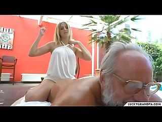 hot massage for grandpa