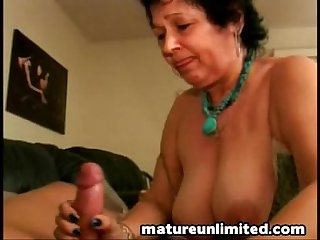 Mature taste of sperm
